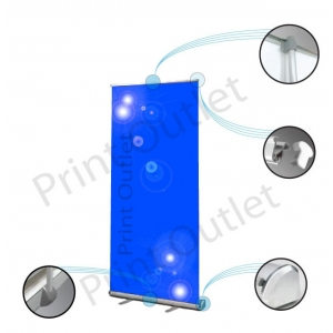 Economy Corporate Pull Up Banner
