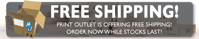 Free Shipping at Print Outlet